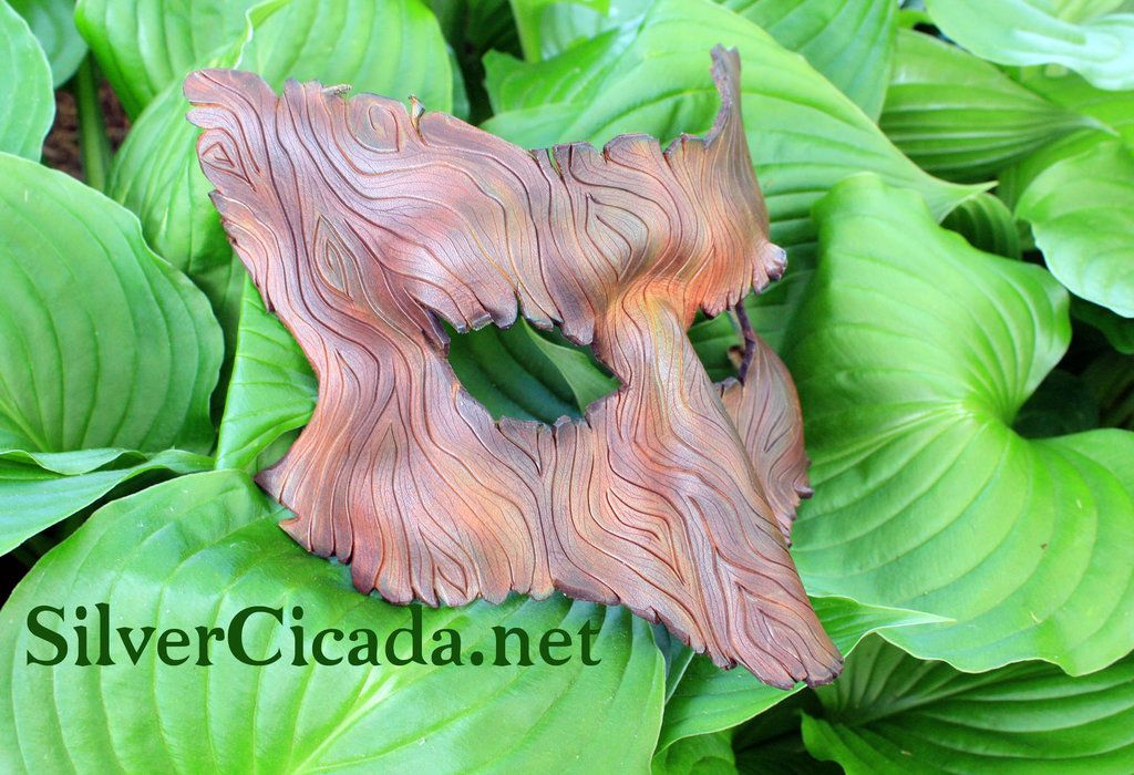 Wood Grain Leather Fox Mask by SilverCicada.deviantart.com on @deviantART