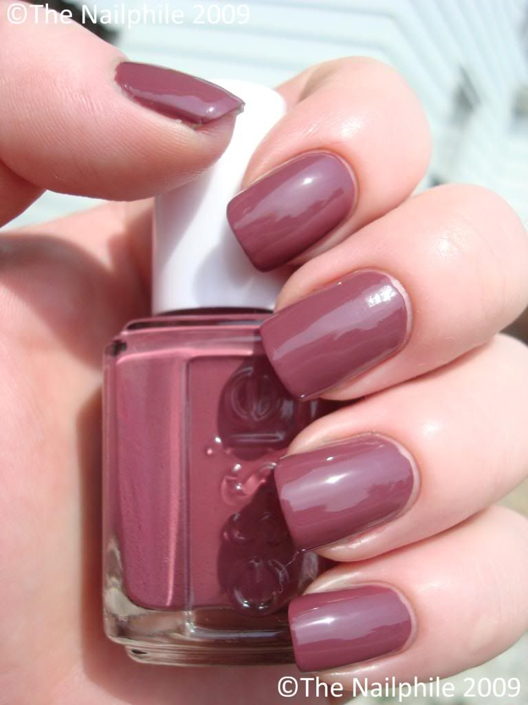 Essie Angora Cardi, Essie - creamy, deep rusty/mauvy rose purple ...