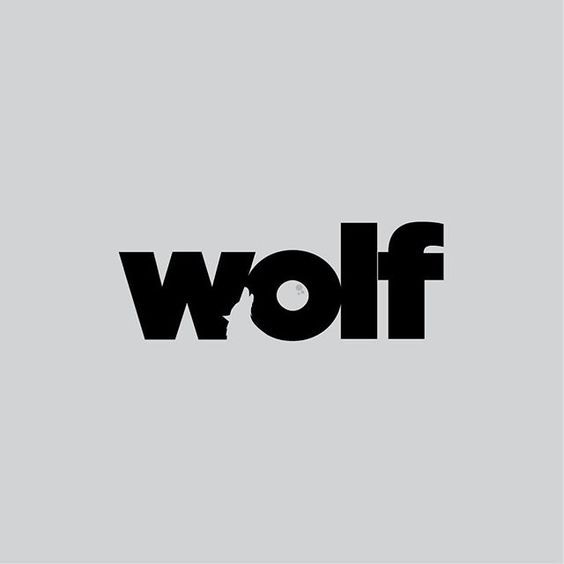 Clever Logos With Hidden Symbolism Wolf By Daniel Carlmatz