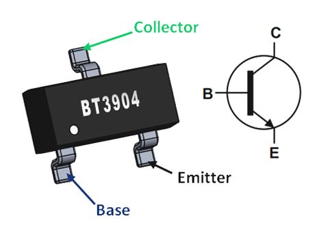 NPN Transistors - BC546 / BC547 / BC548 / BC549 / BC550 | Pin