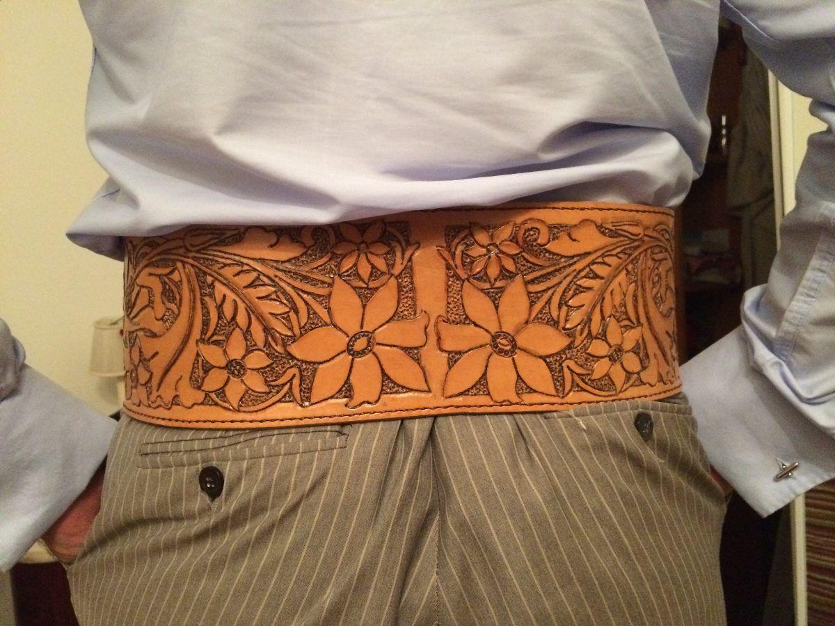 cinturon faja culero gaucho cuero grabado personalizado  28ecb7954cbe