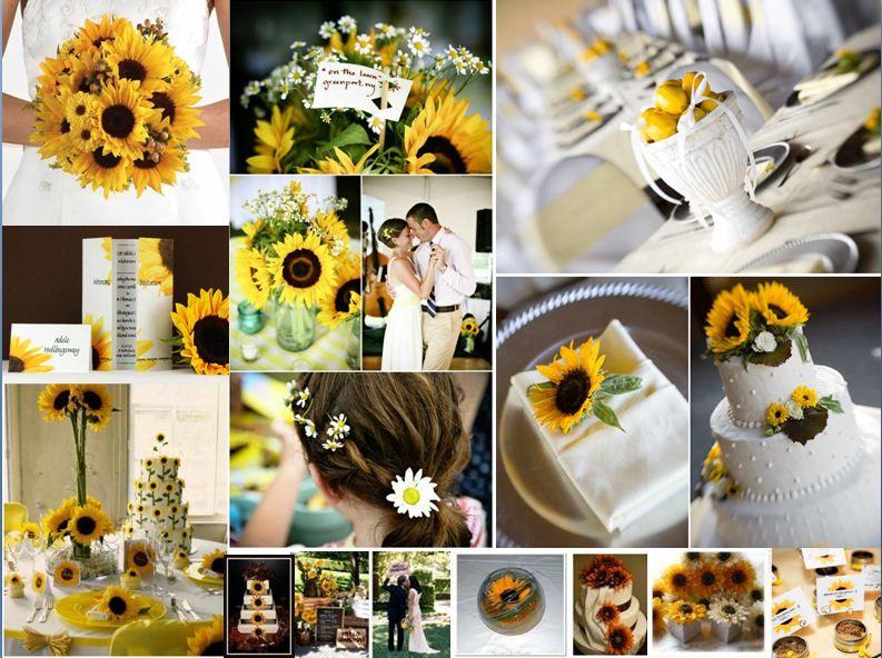 Sunflower themed wedding Sunflower themed wedding