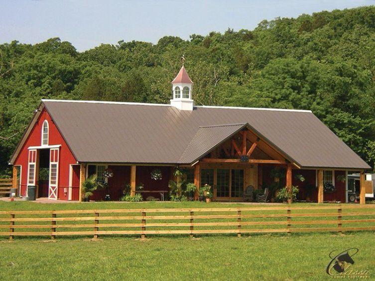 50+ Best Pole Barn Homes Design #polebarnhomes