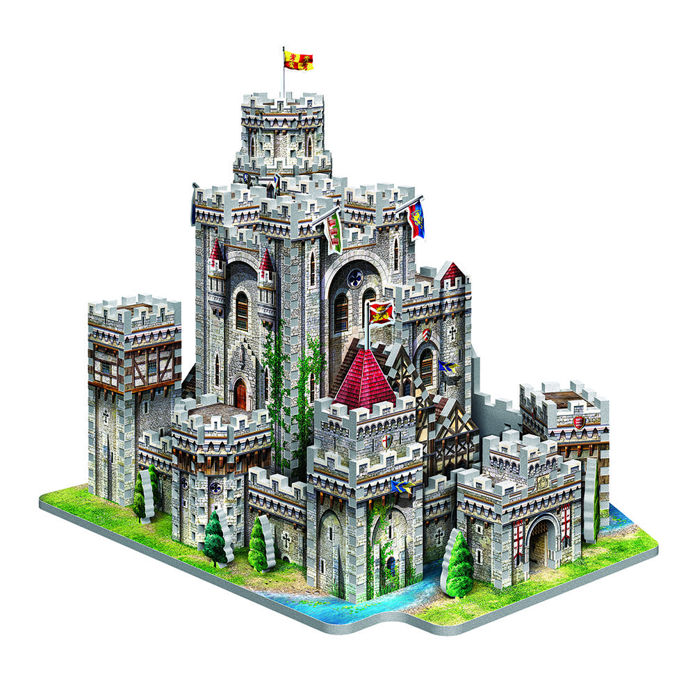 The Home Of King Arthur And His Legendary Knights Of The Round Table Is The Epicenter Of Fantastic Tales And Myths Strengthen Th Castle 3d Puzzles Cathedral