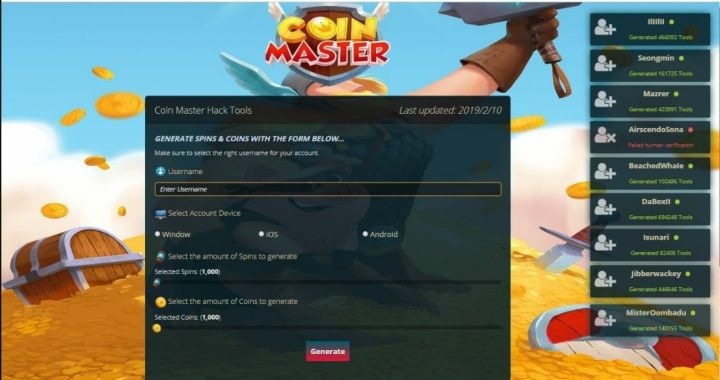 Coin Master Cheats and Hack Tools Online Resources