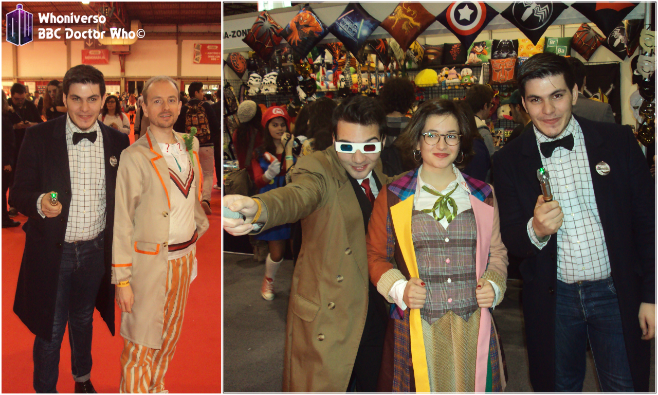 Comic Con Portugal 2015 em revisão :: Whoniverso #DoctorWho #DoctorWhoPortugal