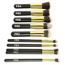 Bs Mall Tm Premium Synthetic Kabuki Makeup Brush Set Cosmetics Foundation Blending Blush Eyeli Cosmetic Brush Set Makeup Brush Set Amazon It Cosmetics Brushes