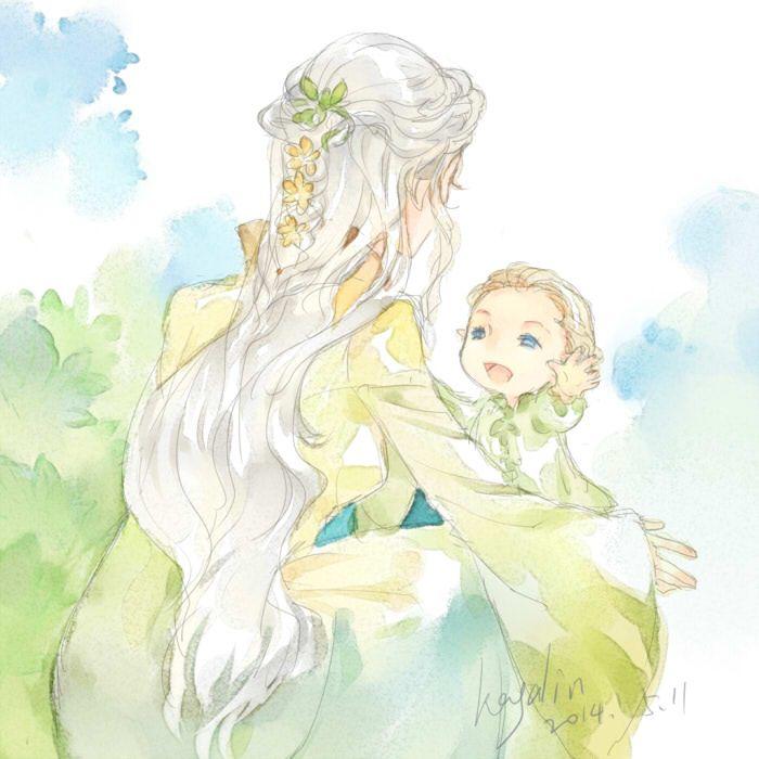 Pequeño Legolas y su mamá | Universo Tolkien | Pinterest | Mamá ...