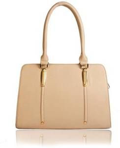 "6654e6bf8b ""Keep calm n buy a Hand bag"" Caprese Satchel White Flower Shoulder Bag  Lavie Satchel Allen Solly Women Brown PU Sling Bag Cottage Acce…"