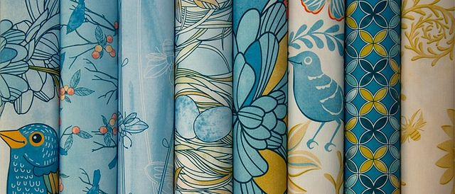 Fabric8 final collection by CJLDesigns: The Scented Garden