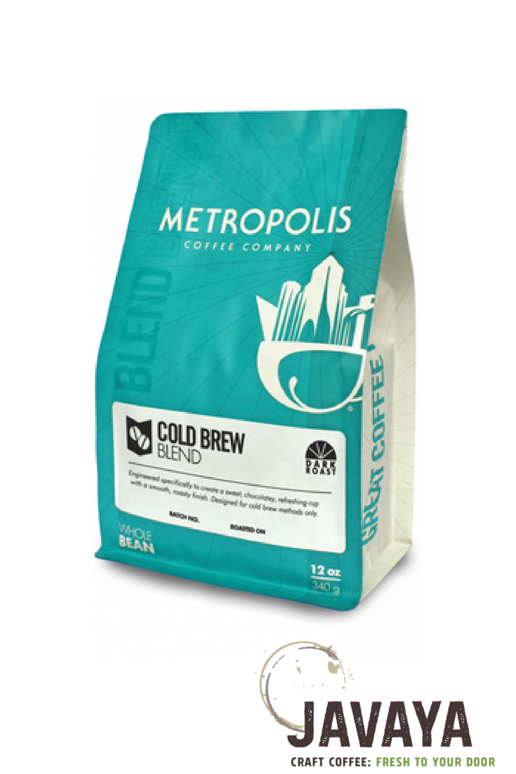With sweet, chocolate taste notes, this dark roast cold