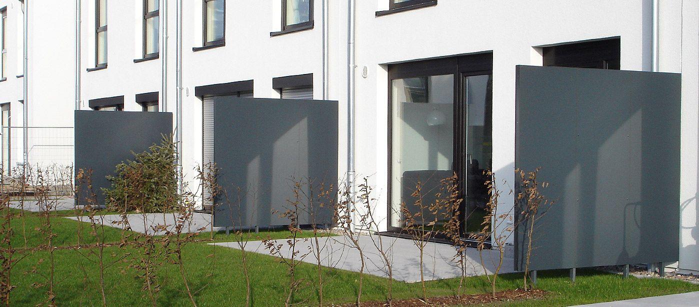 Sichtschutz Gardomo Design Gartenhäuser