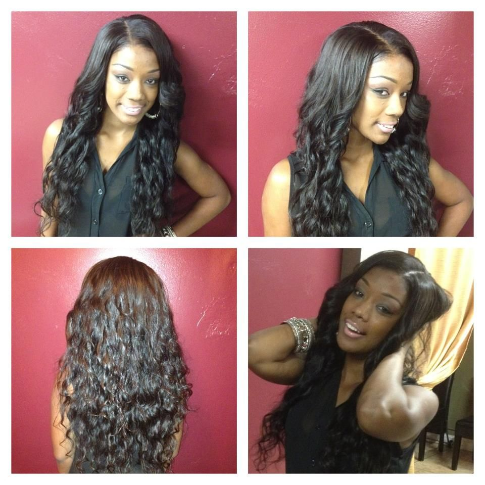 Dreamgirls Hair Full Head Weave Curly Indian Hair Hairextensions