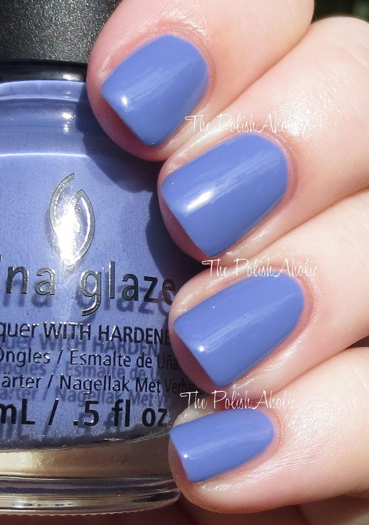 China Glaze Spring 2014 'City Flourish' Collection: What A Pansy