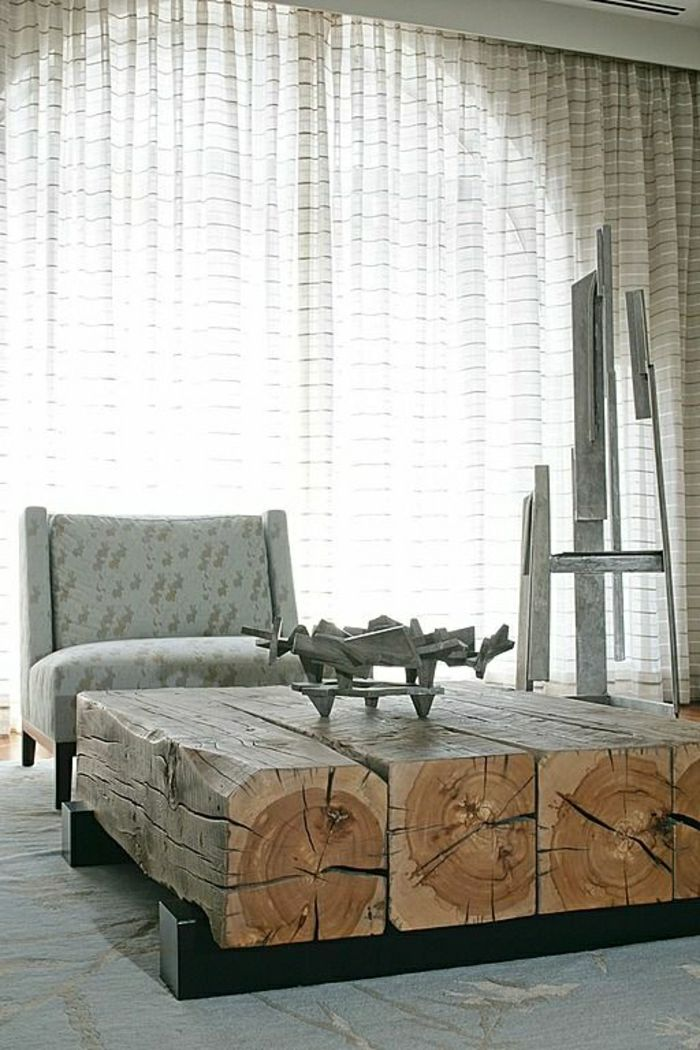 50 wunderschöne Modelle rustikale Möbel – Archzine.net