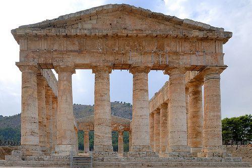 Tempio di Artemide, Segesta, Trapani, Sicilia, Italia