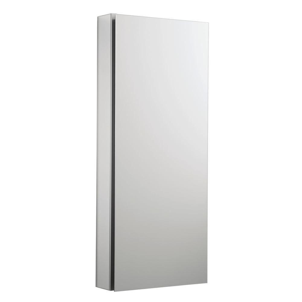Catalan 15 In W X 36 In H Aluminum Single Door Recessed