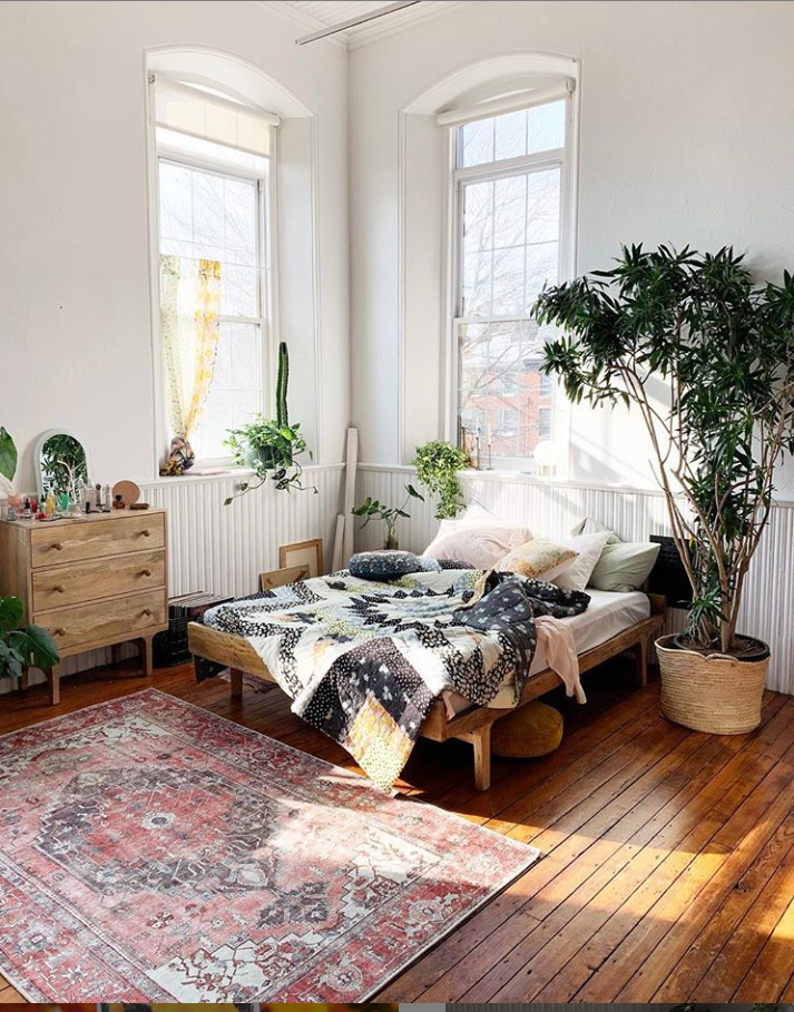 50 Rustic Boho Bedroom Decor Ideas For Small Apartment Page 50