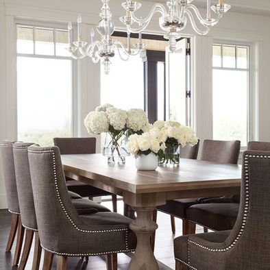 Elegant Dining Room Chandeliers Highpoint Langley Residence  Contemporary  Dining Room