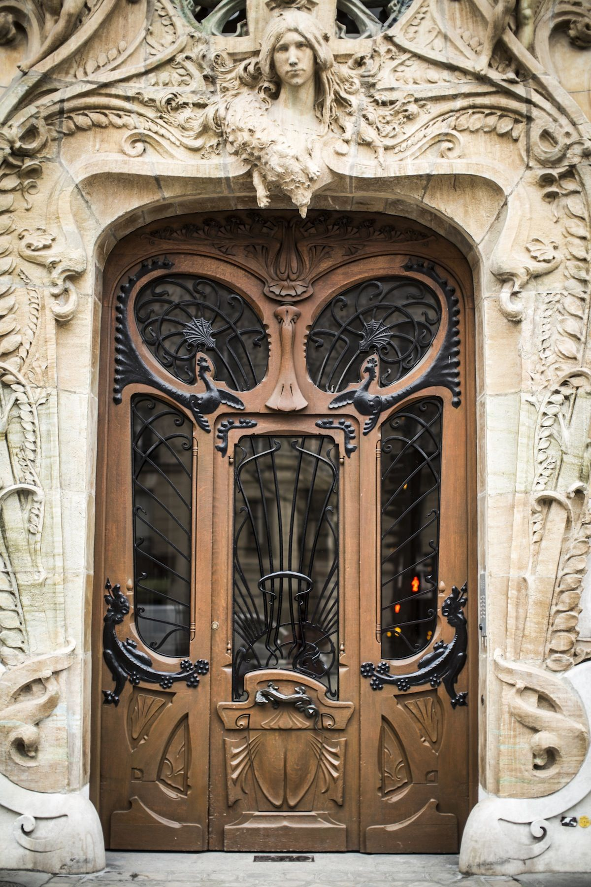 Art nouveau in paris art nouveau pinterest - Art nouveau architecture de barcelone revisitee ...