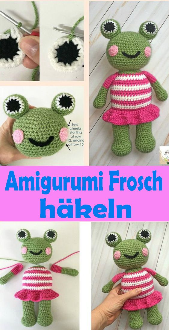 Photo of Amigurumi Frosch häkeln – kostenlose DIY Anleitung