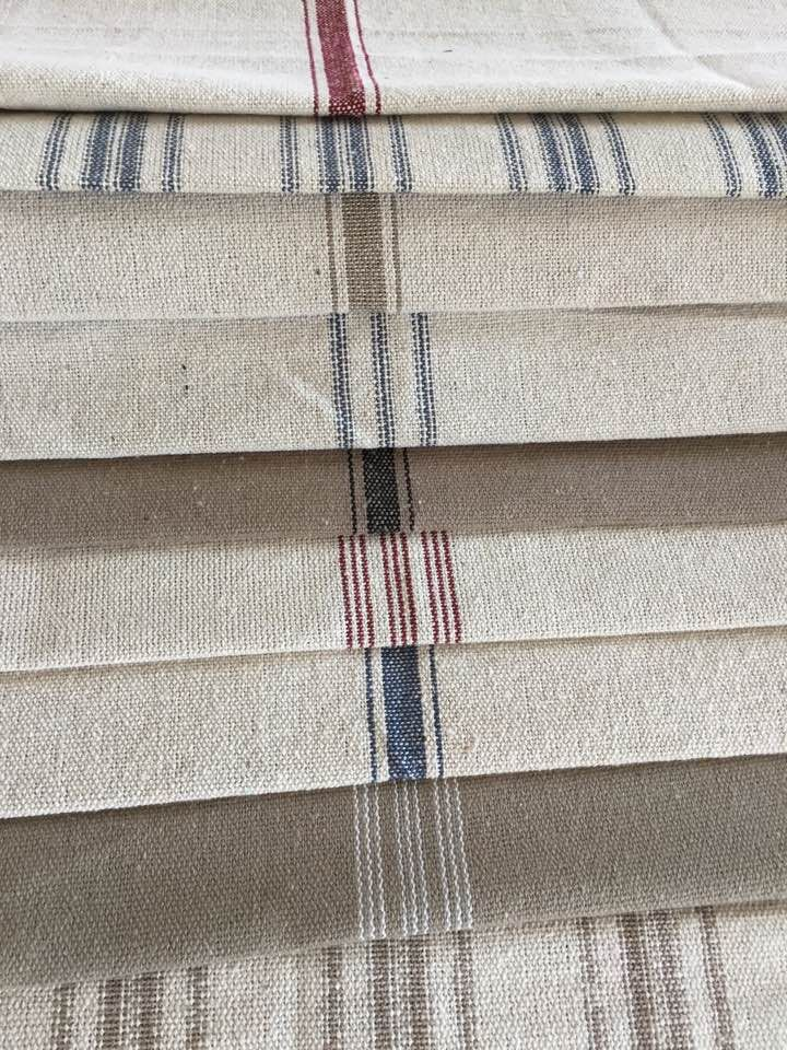 Feed Sack Fabric By The Yard Farmhouse Style In 2019