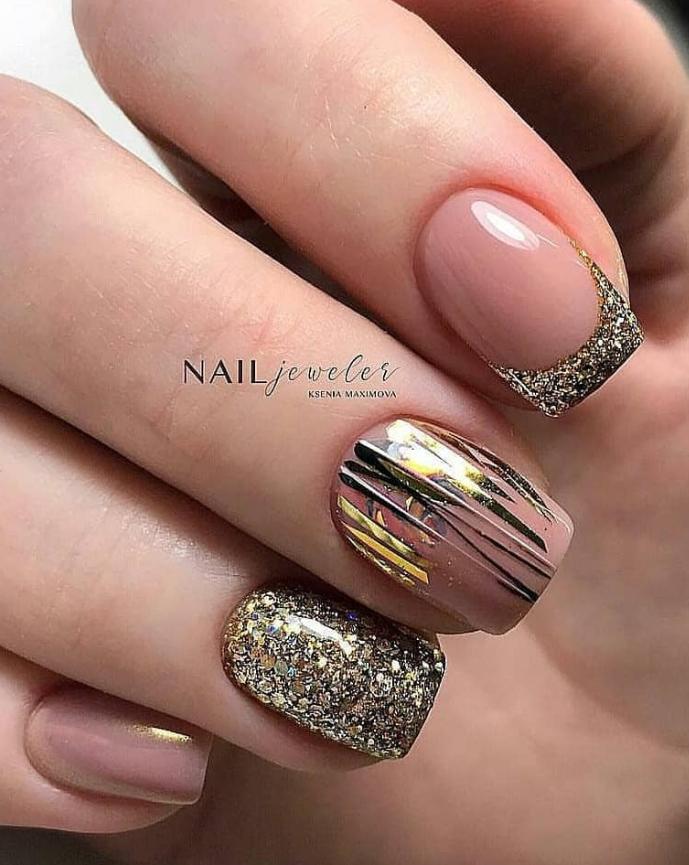 30 Amazing Natural Summer Square Nails Design For Short Nails Square Nail Designs Long Square Nails Short Nail Designs