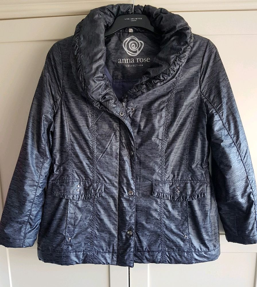 Ladies Anna Rose From Klass Size 18 Large Grey Padded Warm