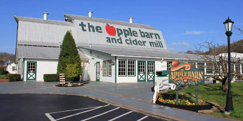 The original Apple Barn located in Sevierville, TN, is ...