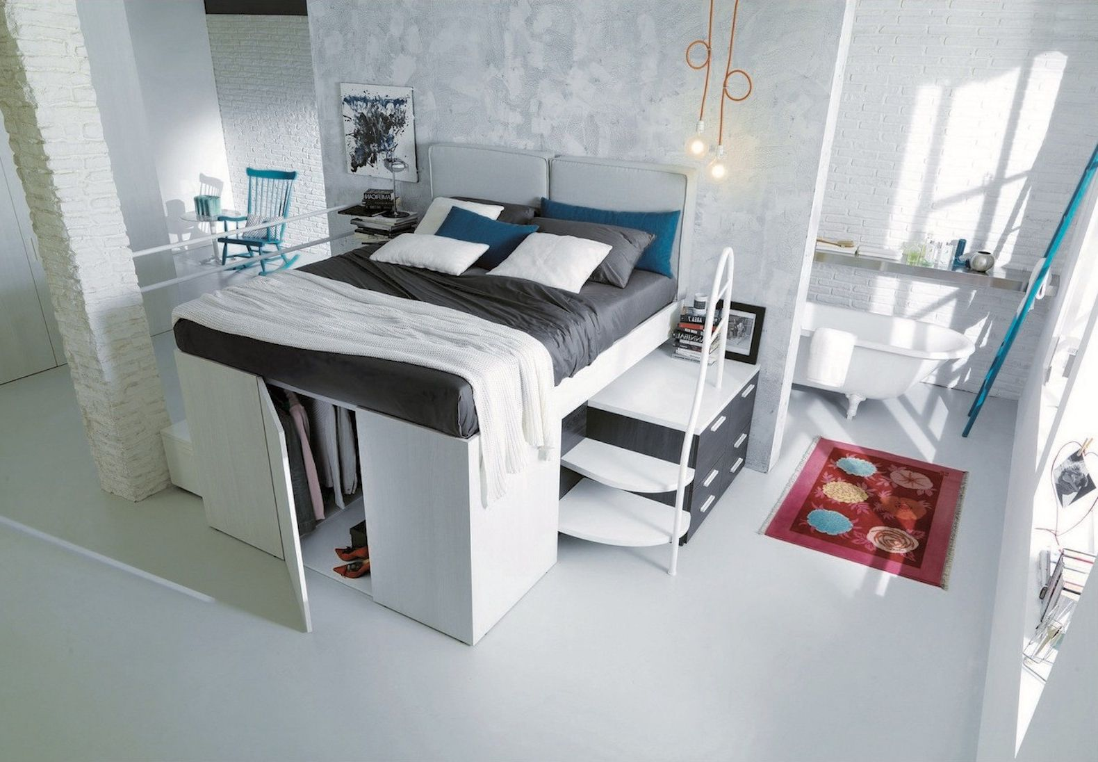 Superieur Space Saving Furniture Bedroom Sets