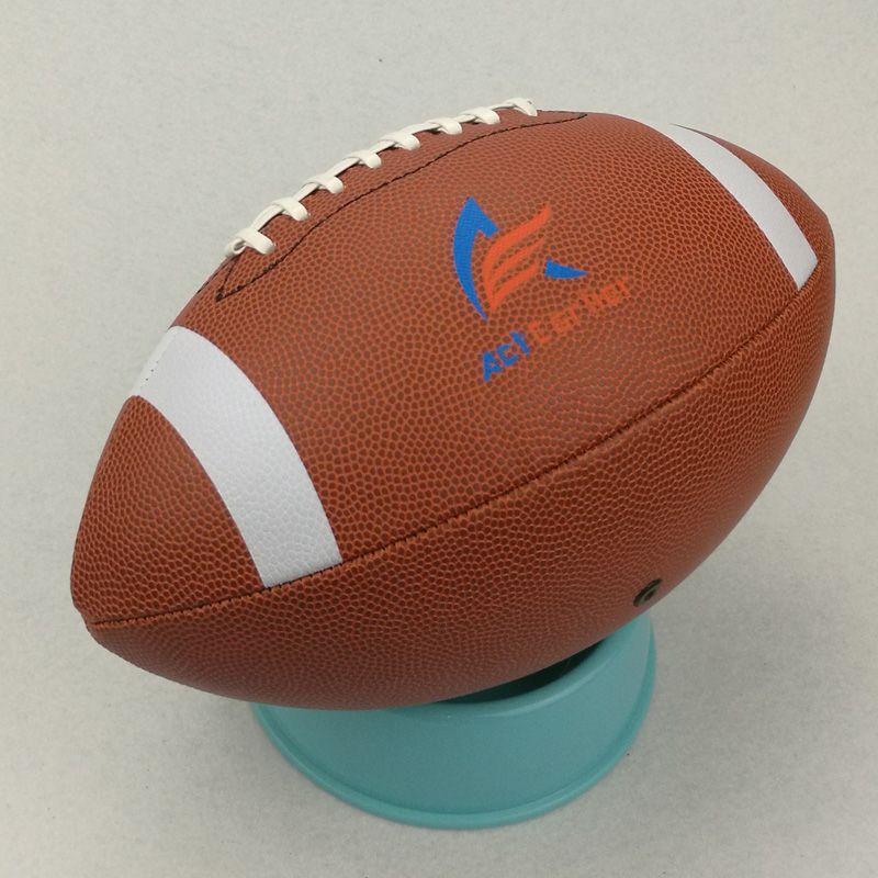 Actearlier Balones Deportivos Tamano Oficial 9 Balon De Futbol Americano Rugby Rugby Pelota De Cuero De La Pu Para La Rugby Ball American Football Sports Balls