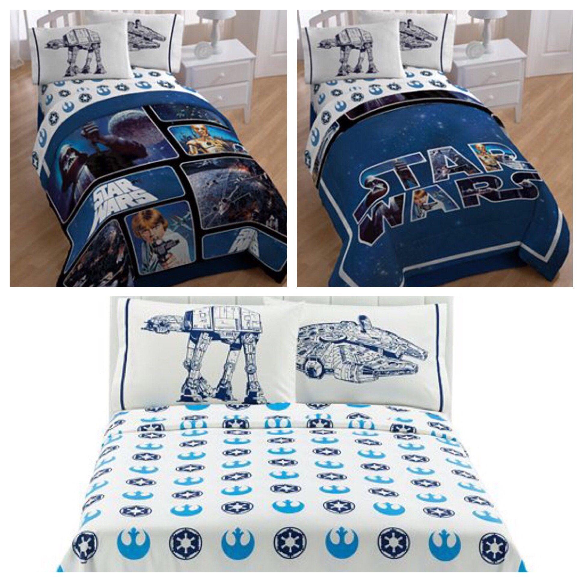 Star Wars Saga Classic Reversible Full Size Bedding Set Full