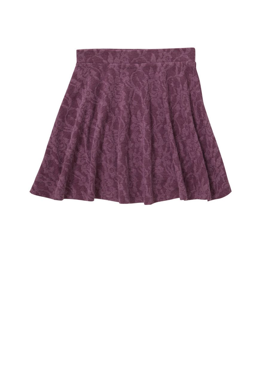 Clothing at Tesco | F&F Floral Jacquard Skater Skirt > dresses > Dresses > Older girls