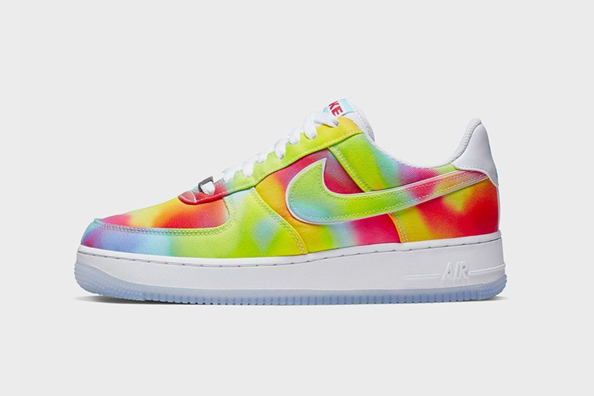 Nike Air Force 1 Chicago Tie Dye: Images & Rumored Release