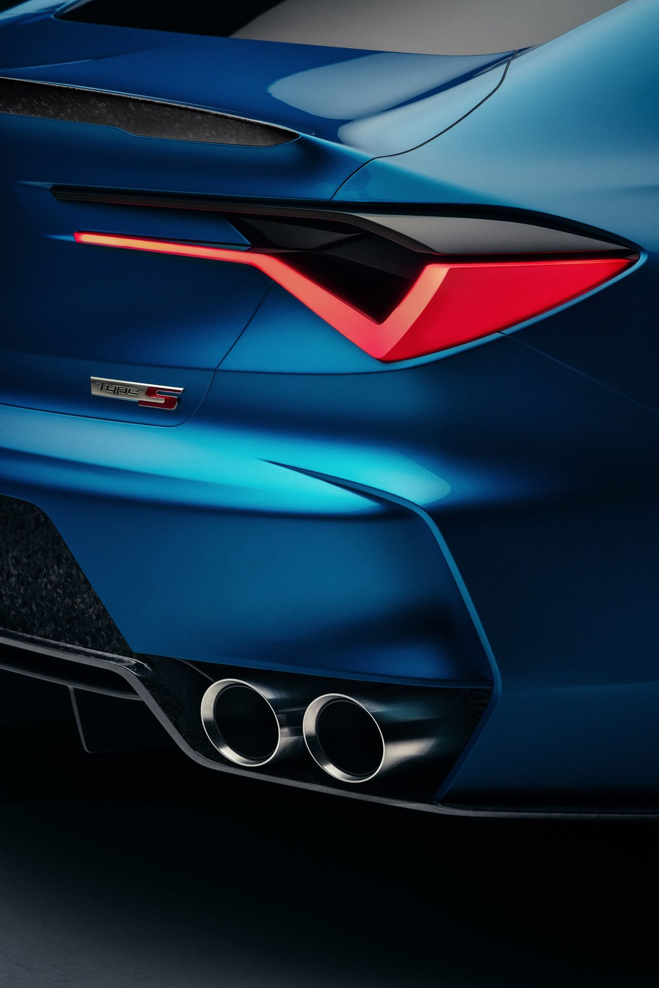Acura Reveals Type S Concept Debuts At Monterey Car Week Design