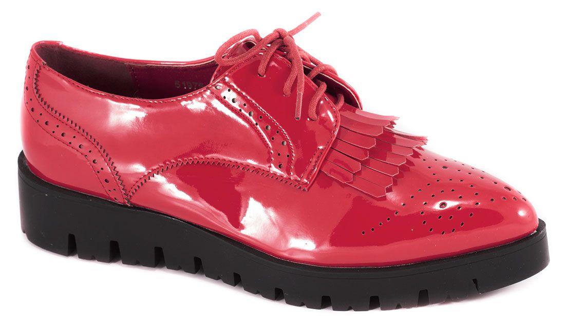 Pagina start :: Incaltaminte dama :: Pantofi dama :: Pantofi fara toc ::  Pantofi de dama rosii 51975R