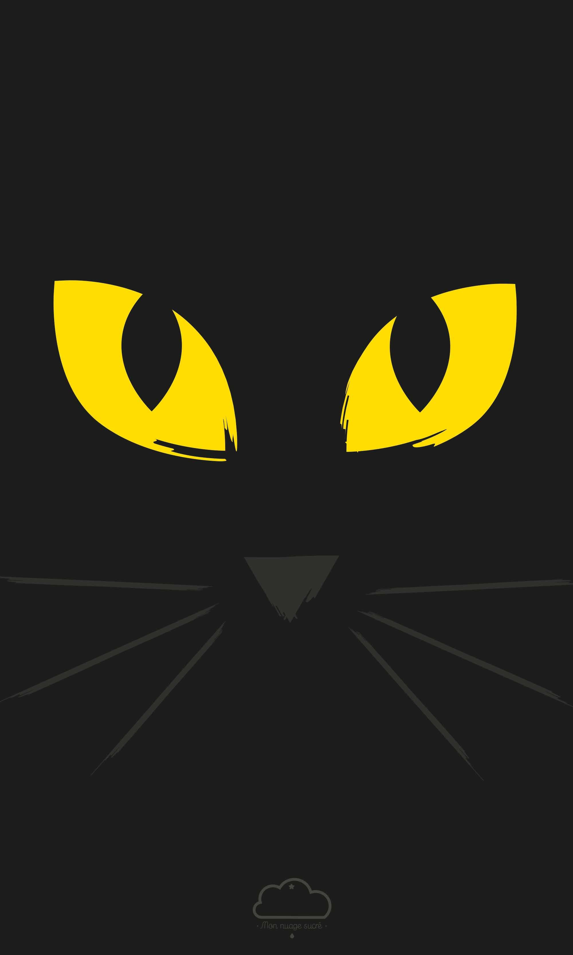 Fond d 39 cran chat halloween 2015 for Image de fond ecran pour telephone