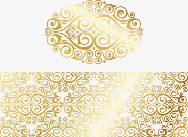 خمر نمط الذهب نمط الرجعية نمط الذهب النمط الصيني Png وملف Psd للتحميل مجانا Gold Pattern Vintage Gold Pattern