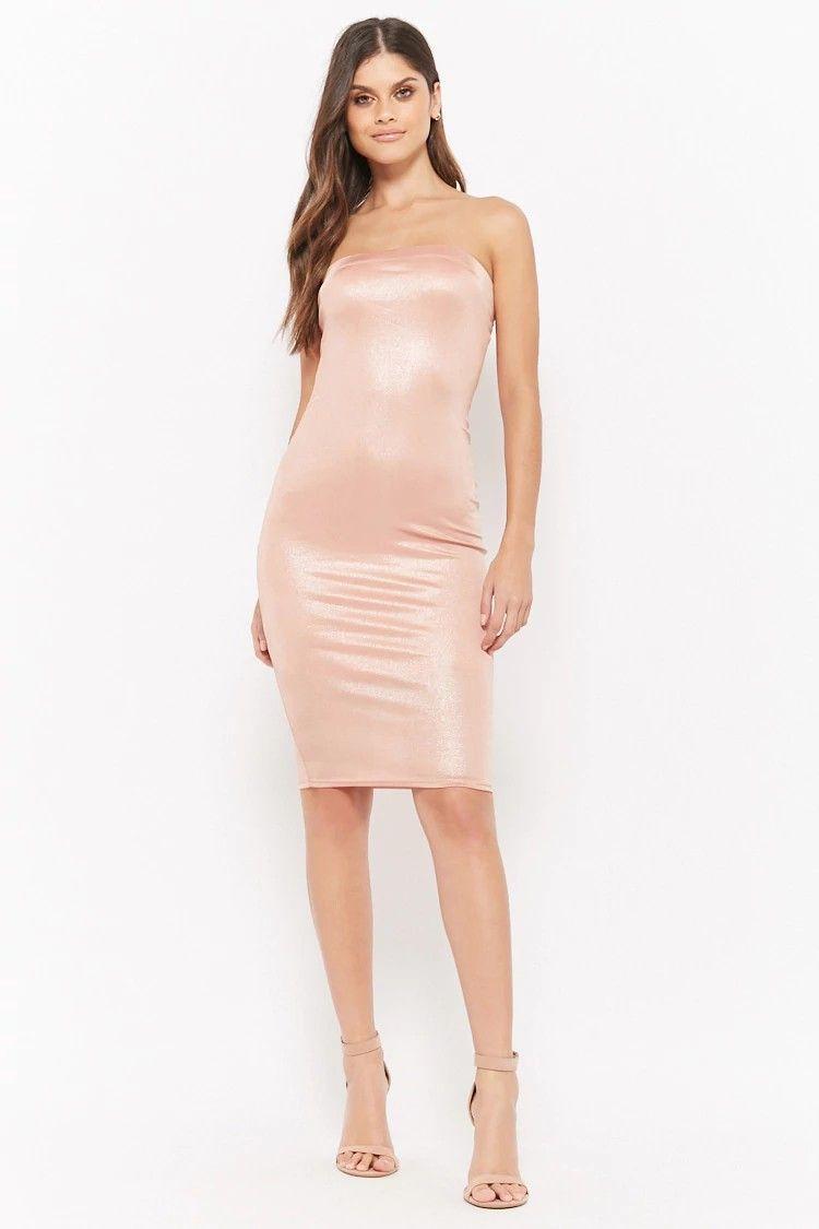 d5d57960e4 Metallic Tube Dress  28.00  ootd  style  fashion  chic  elegant  streetstyle
