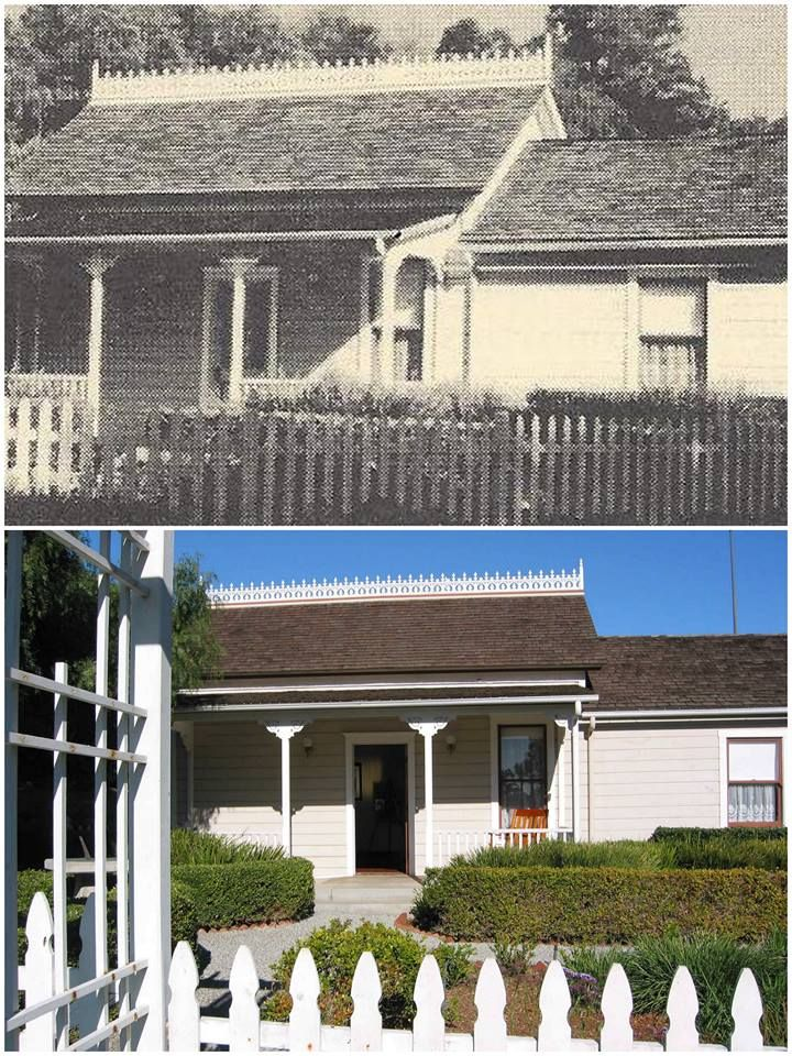 Heritage House is the oldest building remaining on the