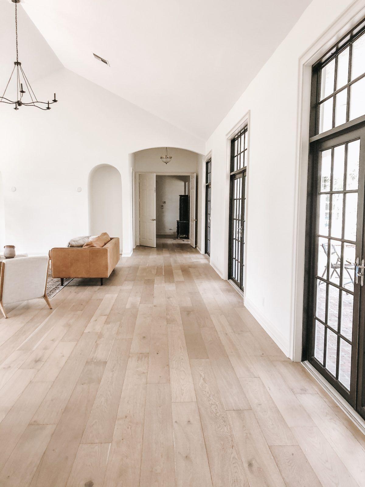 European Oak Shell Beach Hardwood Floor Garrison Collection