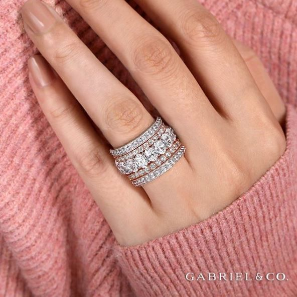 Prism Jewel 0.49 Carat Green Diamond /& Diamond Flower Style Ring 925 Sterling Silver
