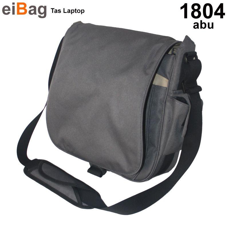 Tas laptop EIBAG 1804 Abu adalah salah satu model tas laptop merk ...