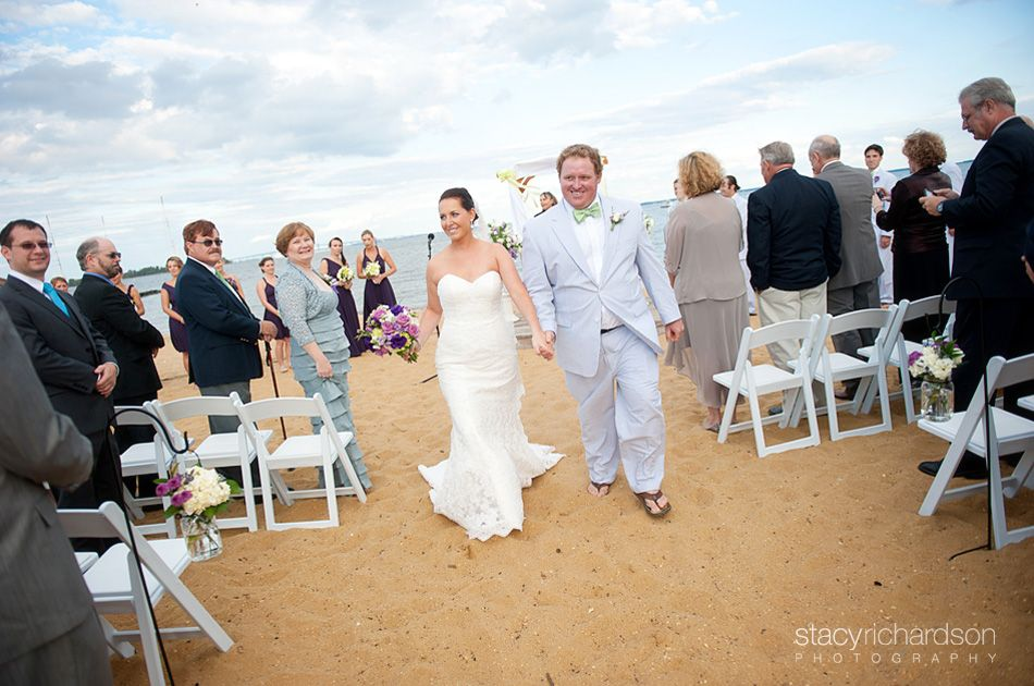 Beach weddings make me smile stacy richardson