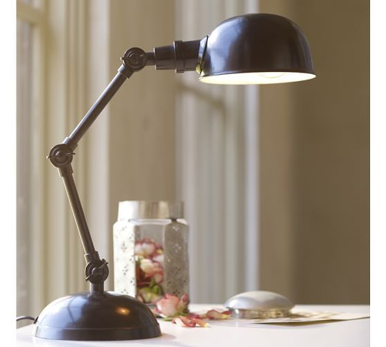 Harrison Bedside Task Lamp Pottery Barn Lamp Task Lamps