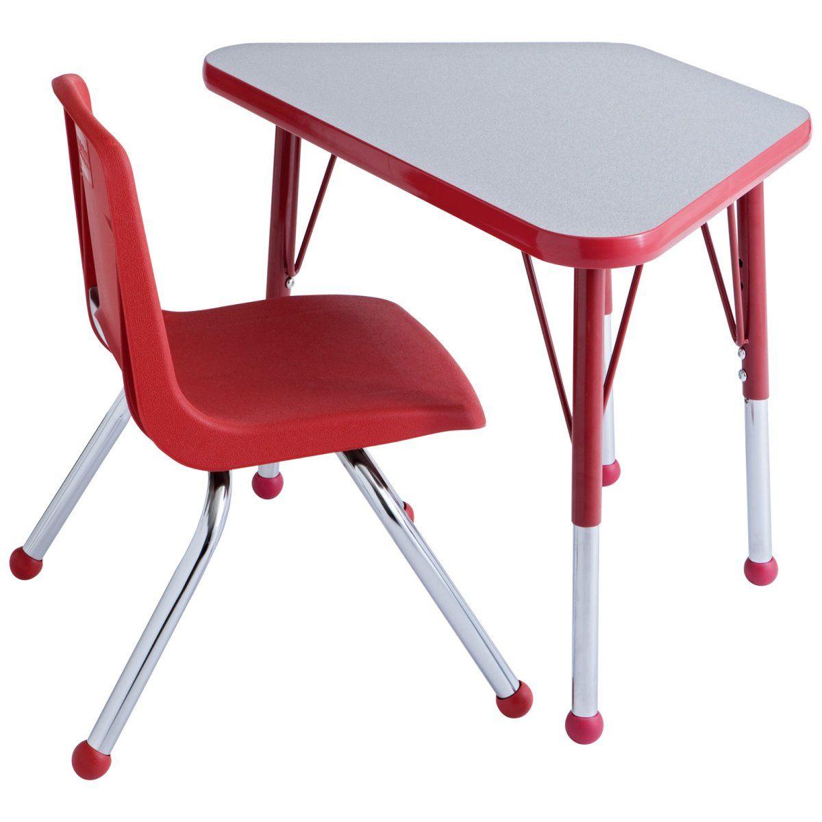 Toddler Desk Design Toddler Desk Cute Red  Furniture