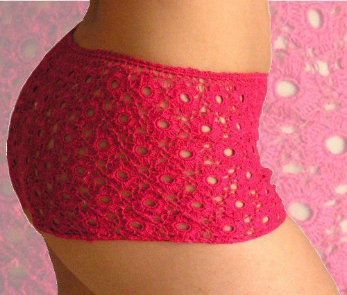 Crocheted boy short (cachetero)   Pantalones cortos   Pinterest