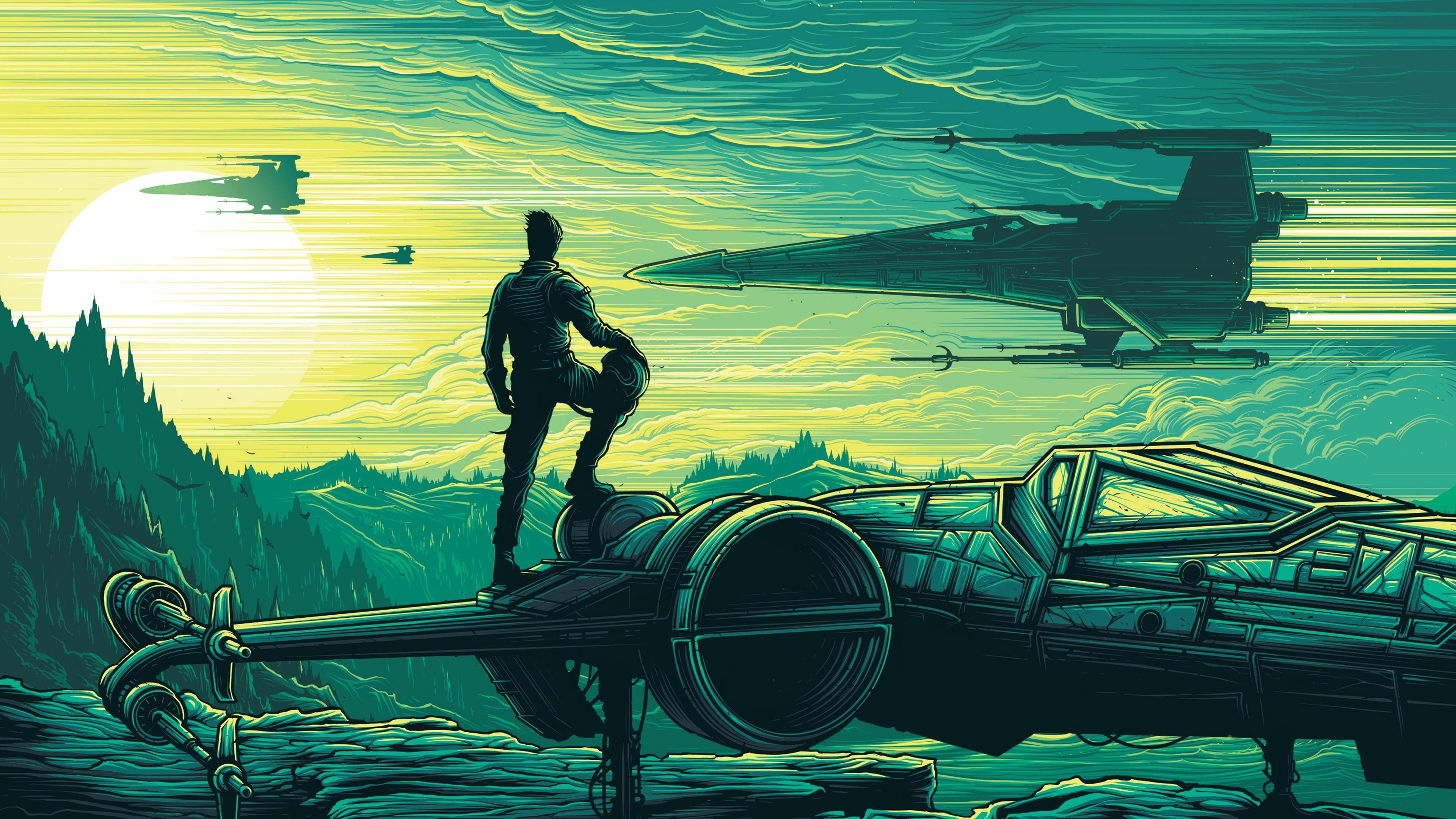 Star Wars Episode Vii The Force Awakens Star Wars Dan Mumford Wallpaper Star Wars Wallpaper Wallpaper Dan Mumford