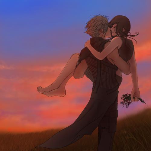 Final Fantasy VII - Cloud Strife x Tifa Lockhart - Cloti ...  Final Fantasy Cloud And Tifa Fanfiction