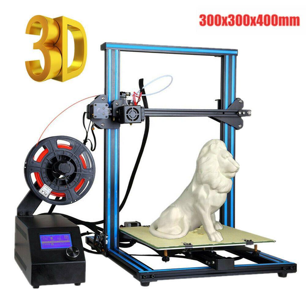 eBay #Sponsored Aluminum 3D Printer Kit Pre-assembled-Dual Z-axis